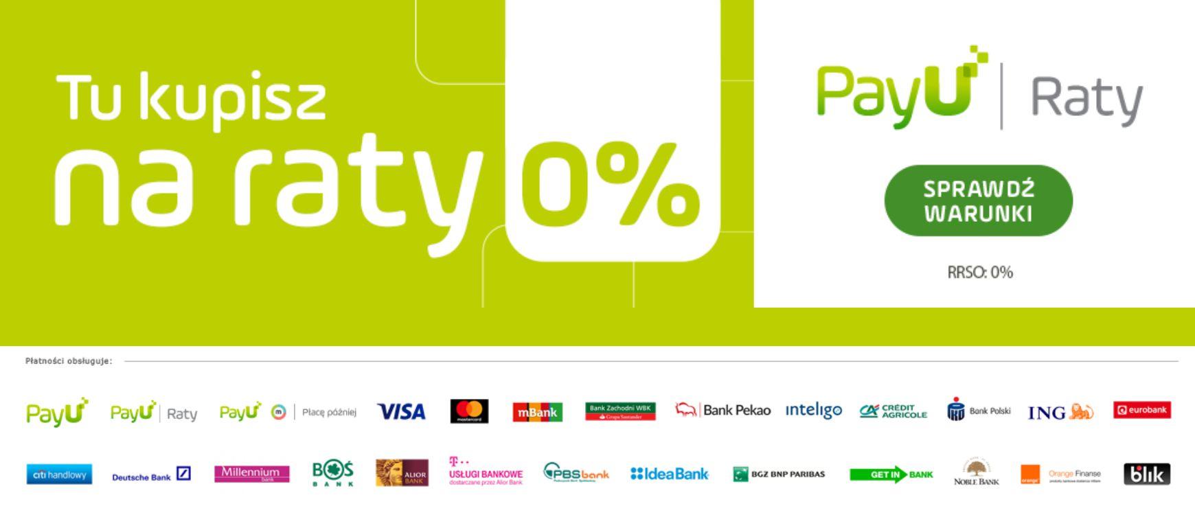 RATY 0% PayU